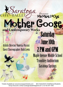 Saratoga City Ballet Performs Mother Goose and Contemporary Works